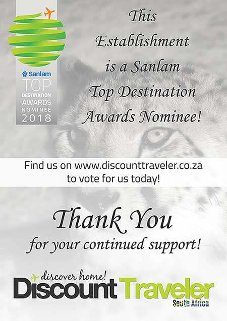 Discount Traveler South Africa Awards Nominee